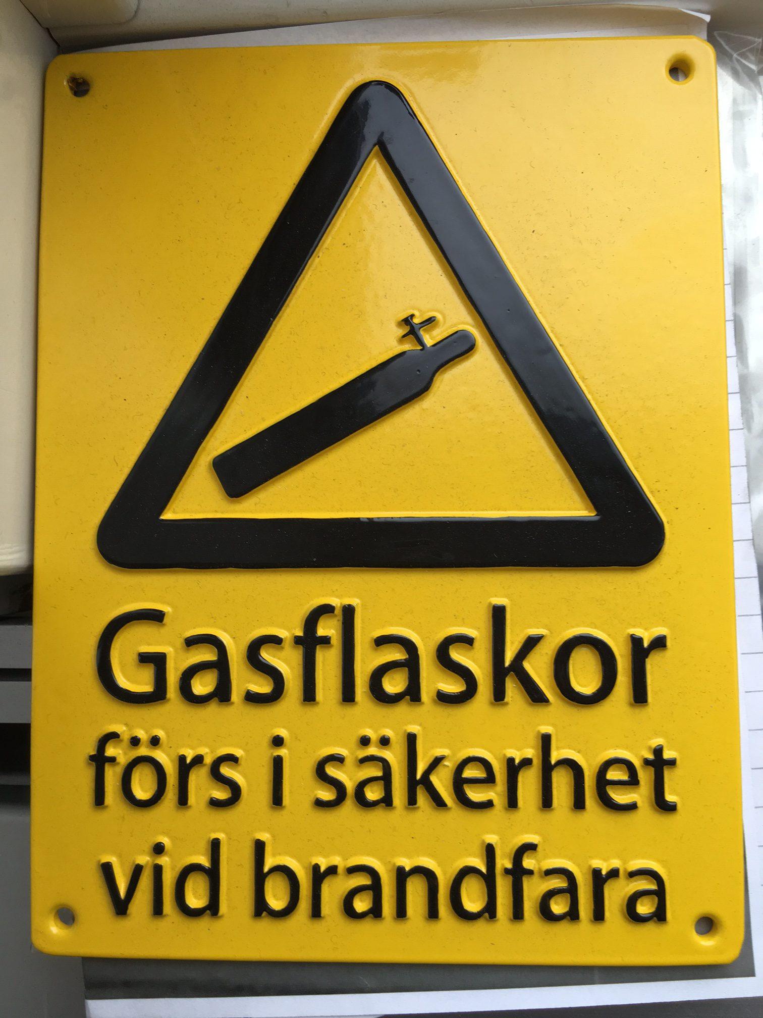 Gasflaskor