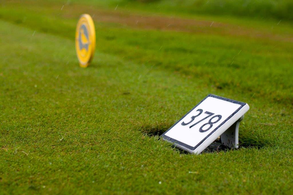 Golf, teemarkering
