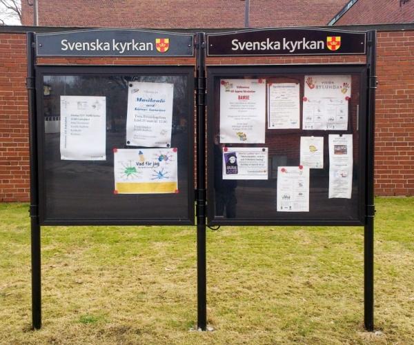 Säffle Kyrka, Information, Skåp